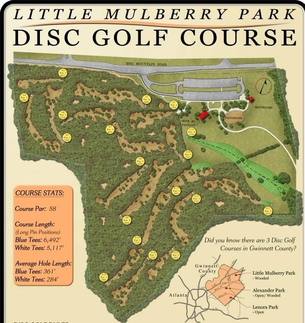 Little Mulberry Course Map