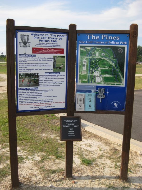 The Pines Disc Golf Course