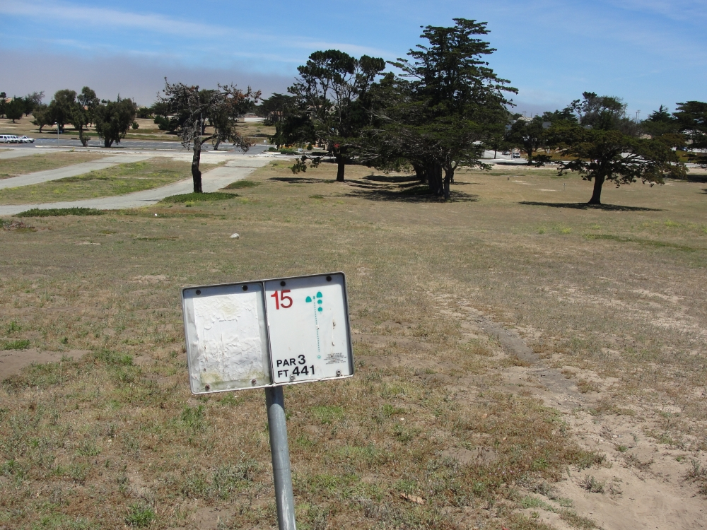 CSUMB Cypress Disc Golf Course
