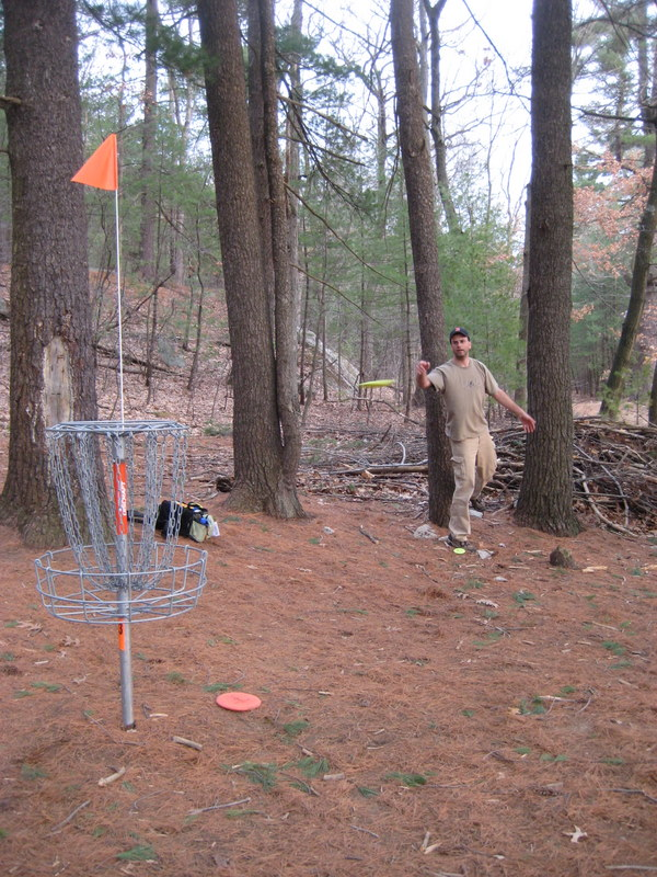 Devens Disc Golf Course - The Hill