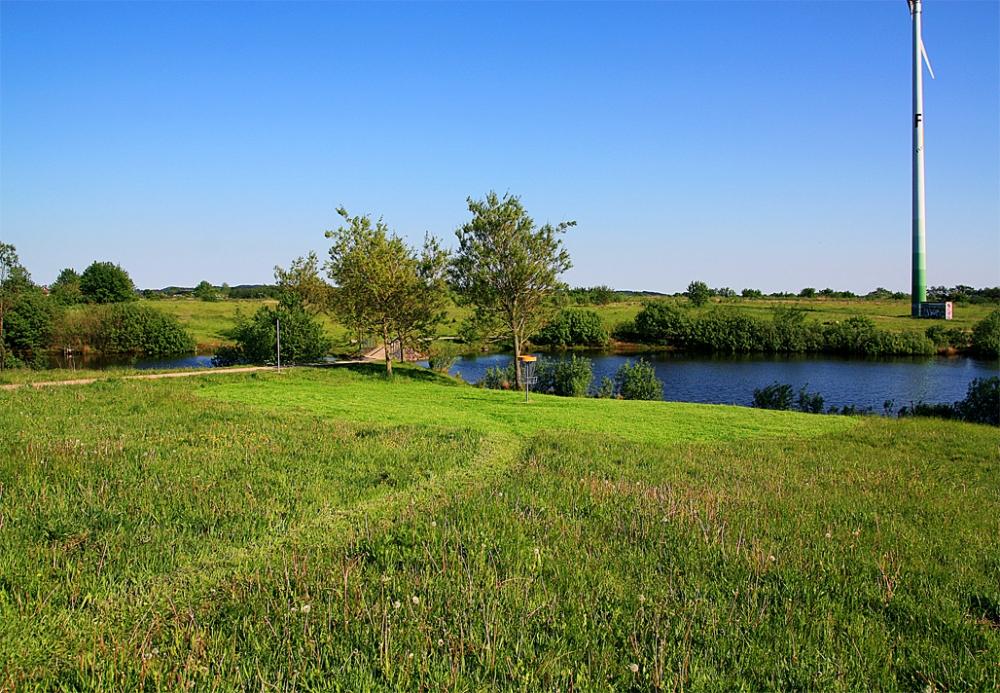 Flensburg University Campus Disc Golf Course