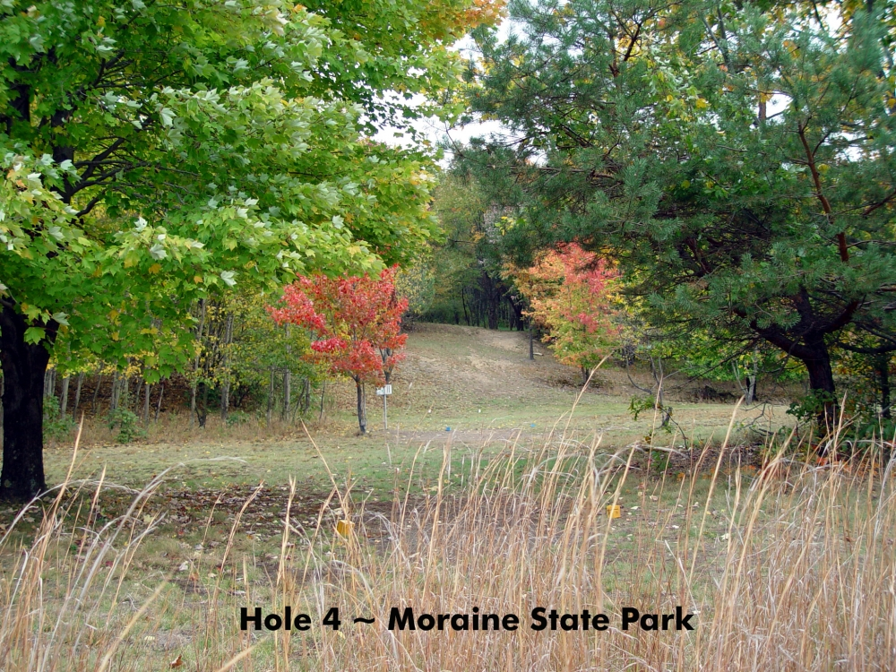 Moraine State Park Disc Golf Course