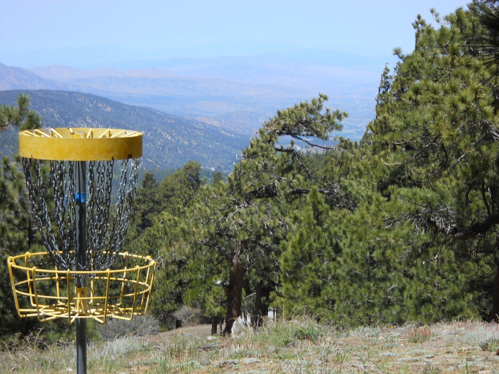 Sky High Disc Golf Course at Mtn. High North