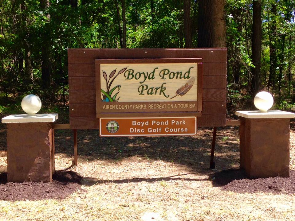 Boyd Pond Park Disc Golf Course