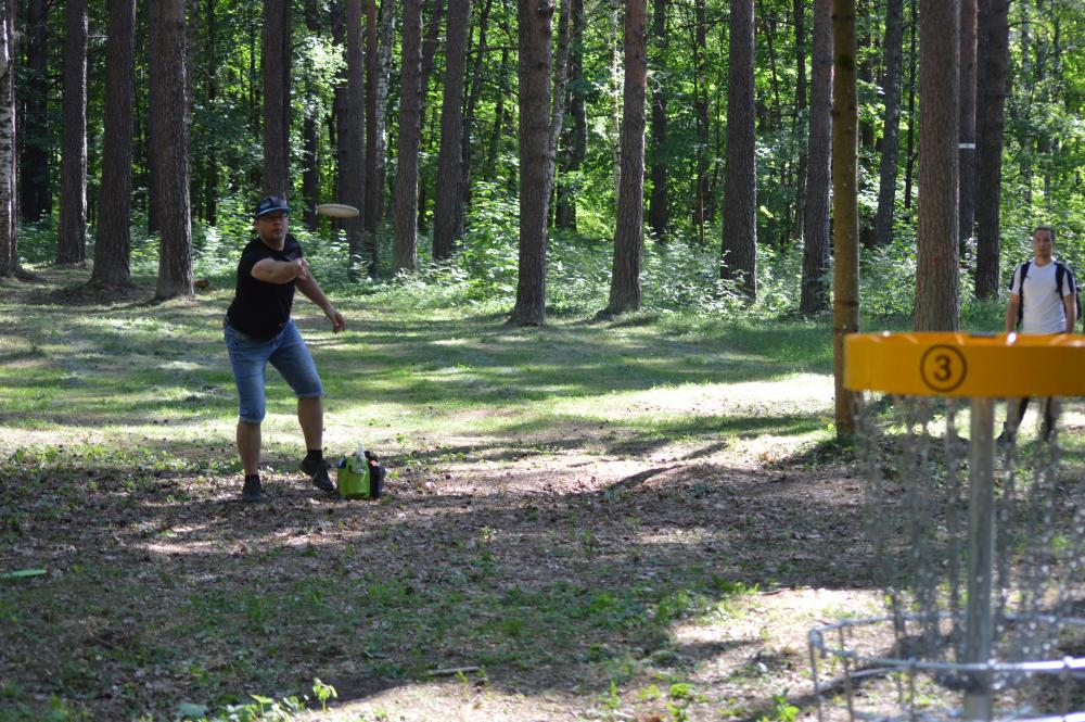 UFOGOLF - DiscGolfPark Mezaparks