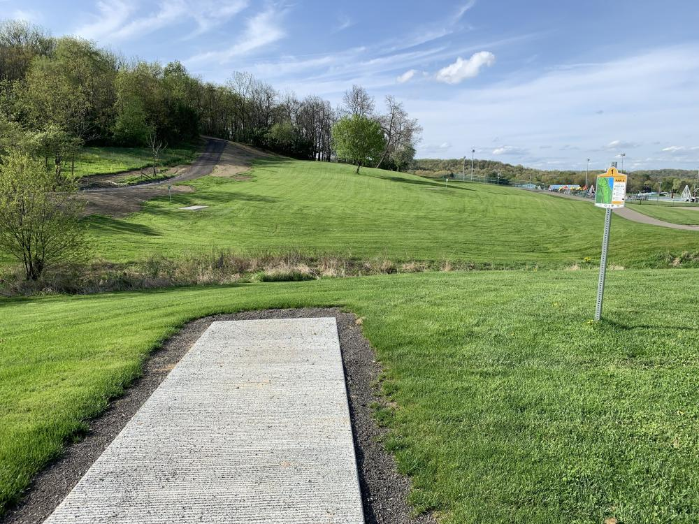 North Boundary Disc Golf Course - Main