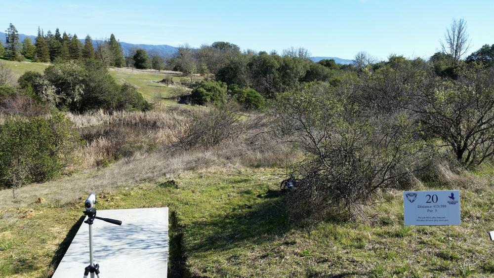 Mendocino College Disc Golf Course